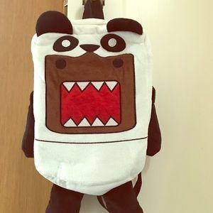 Domo backpack cute